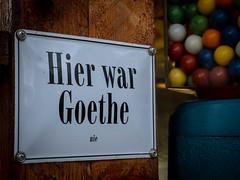 Hier war Goethe    nie / Goethe was never here (CHI@B) Tags: worldwidephotowalk braunschweig fotowalk wwpw2018bs wwpw2018