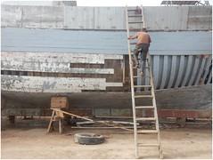 ESCALIER CELESTE (nouredine) Tags: essaouira port bateau escalier nouredine