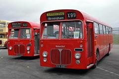 PHA 505G + RHA 919G (ANDY'S UK TRANSPORT PAGE) Tags: buses showbus2018 castledonington preservedbuses midlandred