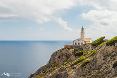Leuchtturm Capdepera (hrolapp) Tags: blau capdepera leuchtturm mallorca meer sommer sonne urlaub wasser wolken balearischeinseln spanien es