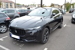 Maserati Levante S Gransport (Monde-Auto Passion Photos) Tags: voiture vehicule auto automobile maserati levante sportive sport 4x4 suv noir black france fontainebleau