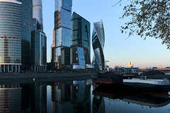 QWZ04242 (qwz) Tags: skyscraper москва moscow architecture river reflection