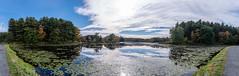 ashleyreservoir2018-153 (gtxjimmy) Tags: ashleyreservoir nikond7500 nikon d7500 newengland holyoke massachusetts autumn fall watersupply reflections reflection panorama