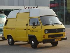 1988 Volkswagen Transporter (harry_nl) Tags: netherlands nederland 2018 almere volkswagen transporter 72jvl6 sidecode7 saykaas