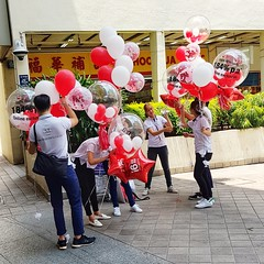 2018-10-20_05-07-31 (jumppoint5) Tags: together people street balloon urban city