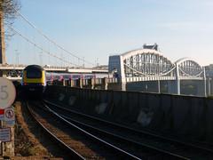 43192 Royal Albert Bridge (2) (Marky7890) Tags: gwr 43192 class43 hst 1a80 royalalbertbridge railway saltash cornwall cornishmainline train