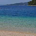 La grande bleue, village de Račišće, Korčula, comitat de Dubrovnik-Neretva, Dalmatie, Croatie. thumbnail