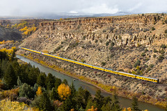 Union Pacific's Officer Special at Burns,CO (Kyle Yunker) Tags: union pacific up ocs officers special passenger train burns colorado dotsero cutoff