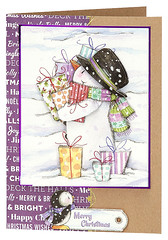 Craft Creations - Shelley176 (Craft Creations Ltd) Tags: snowman snow christmas greetingcard craftcreations handmade cardmaking cards craft papercraft