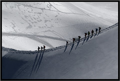1Y7A4301rl (Jacek Roman) Tags: france chamonix aiguilledumidi mountainclimbing