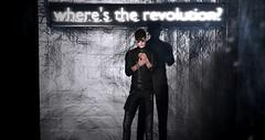 Where's the revolution? (Craig William) Tags: secondlife fashion blog blogger mesh bento catwa belleza bellezajake jake modulus modulushair letre shoes shirt pants gay sl vr 3d portrait model catwadaniel straydog second life mydigitalmirror digitalmirror men boy male fun photos pictures pics virtualmodel cmmesh xjax ay themenjail themenjailevent tmj tmjevent hevo