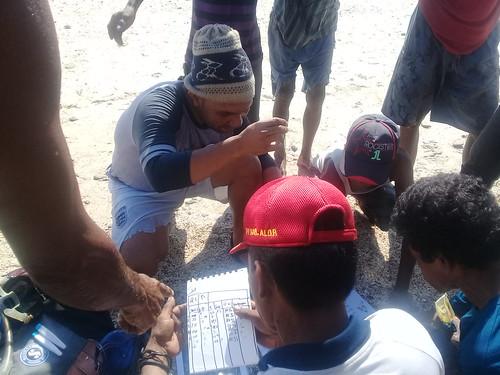 Pelatihan monitoring lamun Munaseli 14
