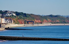 Red Cliffs Of Dawlish (Better Living Through Chemistry37) Tags: colasrail 70810 cement aberthaw moorswater freight transport transportation railways dawlish class70