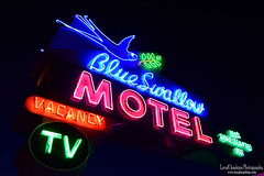 Blue Swallow Motel - Route 66 (LocalOzarkian Photography - Ozarks/ Route 66 Photo) Tags: tucumcarinewmexico tucumcaritonight newmexico newmexicoroute66 nmroute66 nm route66 motherroad southwest west blueswallowmotel blueswallow