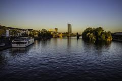 Frankfurt0488 (schulzharri) Tags: frankfurt deutschland germany europa europe flus river water wasser city stadt hessen schiff boat vessel ship