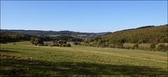 View to Gilsbach Valley / Blick in's Gilsbachtal (Beckerhenning) Tags: germany deutschland nrw siegerland herbst landschaft landscape forest wald wiesen felder feld nikon d7200 sigma 1750 ex