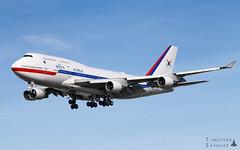 ORY | Korean Government Boeing 747-400 (Timothée Savouré) Tags: korean government korea air force 001 paris orly lfpo ory 10001 boeing 747 747400 runway 26 moon jaein