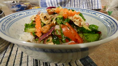 Nam Tok (Sandy Austin) Tags: sandyaustin massey westauckland auckland northisland newzealand food namtok thai salad meat vegetables