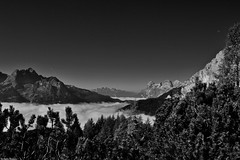 DSC_0986 (Stefania Bianco) Tags: belluno amazing mountains bw landscape montagne paradise sky peace travel travelling nikon reflex holiday summer september clouds trees mountain italy picoftheday pic awesome paesaggio italia escursione