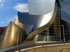 A great place to hear music. (vickilw) Tags: california losangeles waltdisneyconcerthall disney gehry architecture building
