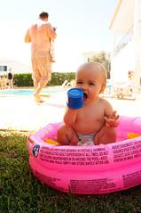 Portugal 2018 (JasonCondie) Tags: carvoeiro portugal family friends beach holiday sea seaside algarve caves coves boardwalk baby villas pool hammock