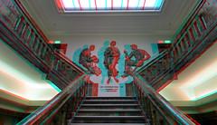 De Porceleyne Fles Delft 3D (wim hoppenbrouwers) Tags: deporceleyneflesdelft 3d deporceleynefles delft royaldelft trap stairs