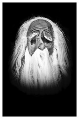 Masked mannequin (Mallybee) Tags: art longhair man head fujinon f284 1855mm male portrait statue mannequin halloween masked mask blackwhite bw mallybee xtrans apsc xt3 fujifilmxt3 fuji