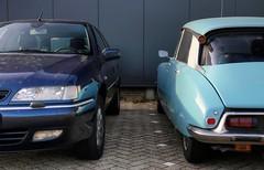 Citroën Xantia V6 Exclusive Break / DSuper 5 (Skylark92) Tags: nederland netherlands holland brabant noordbrabant heusden heesbeen citroënforum najaarsmeeting road tree windshield wheel citroën dsuper 5 1971 dh4190 car xantia v6 break 43kkb6 2001 window exclusive