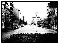 Aveiro | Portugal (max tuguese) Tags: black white bianco nero blanc noir noiretblanc maxtuguese schwarz weis bw blackwhite urban street sony photographer flickr art outdoor light monochrome portugal aveiro view downtown film cityscape