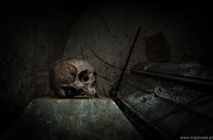 Six feet under (trip_mode) Tags: abandoned decay urbex urban exploration exploring trip derelict trespassing church sacral skull bones dead