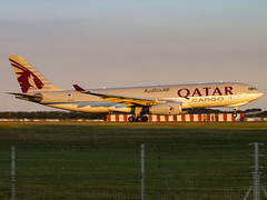 Qatar Airways Cargo | Airbus A330-243F | A7-AFJ (Bradley's Aviation Photography) Tags: egss stn stansted stanstedairport londonstanstedairport canon70d aircraft essex air aviation plane planespotting avgeek aviationphotography a330 a332 qatar qatarairways qatarairwayscargo airbusa330243f a7afj