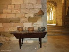 Detalles (kirru11) Tags: monasterio detalles claustro monateriodeirantzu abárzuza navarra españa kirru11 anaechebarria canonpowershot