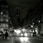 Montparnasse à la tombée de la nuit (1) (Version N&B) thumbnail