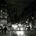 Montparnasse à la tombée de la nuit (1) (Version N&B)