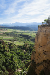 High below (Mariano Colombotto) Tags: ronda andalucia andalusia spain españa mountains high landscape nature fields sky clouds travel paisaje ngc green trees viewpoint nikon photographer photography