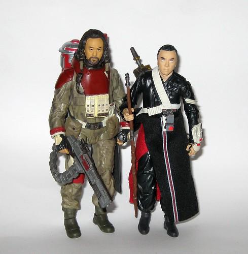 Star Wars Rogue One CHIRRUT IMWE #36 BAZE MALBUS #37 Figures The Black Series