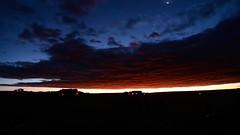 Deep Fire Sky_TL (northern_nights) Tags: timelapse firesky sunrise twilight dawn bluehour goldenhour cheyenne wyoming nikond7100 tokina1116mmf8