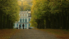 Autumn / Herbst (buidl-lemmy) Tags: deutschland germany calden schlosspark wilhelmsthal autumn harvest herbst castle rokoko path pfad spaziergang walk linden lindentrees