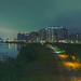 華中橋-河畔夜拍