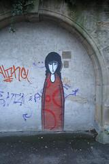 sad girl (its.my.turn) Tags: traurigesmädchen sadgirl mainz graffiti streetart