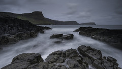 Waterstein Head (grahamhutton) Tags: neistpoint isleofskye skye scotland scottishhighlandsandislands duirinish rubhanaheist watersteinhead waterstein moonenbay camasnansidhean sonya6300 sony1018mmf4oss leefilters leeseven5 gradfilter longexposure autumn drab water movement cold