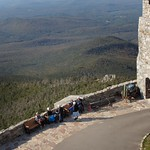 Whiteface Mountain - Whiteface Castle now Castle Cafe  - Observation - Resting Area - Adirondack  Mountains - Lake Placid  New York thumbnail