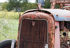 V8 (denis_hehman) Tags: rust abandon v8 delmarva delaware sussexcounty auto grill tractor farmimg neglected
