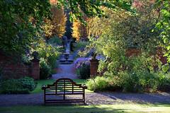 Newby Hall Series (PJ Swan) Tags: newby hall yorkshire england canon 80d garden gardenstosee evening light bench great britain shadows sunshine