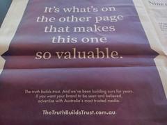 The Press press on (WeFive5) Tags: news newspapers print journalism theaustralian advertising newspapersaustralia printnews fairfaxmedia newscorp sevenwestmedia