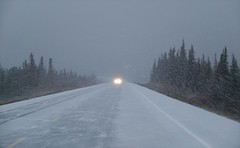 A preview . . . (JLS Photography - Alaska) Tags: winter winterlandscape alaska alaskalandscape landscape lastfrontier jlsphotographyalaska highway glennhighway snow road forest tree sky weather