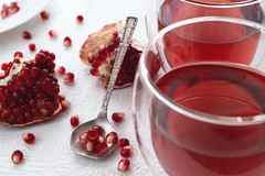 Pomegranate tea (Hanna Tor) Tags: drink fruit tea pomegranate art kitchen cooking healthy organic sweet tasty hannator