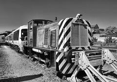 01059 (R~P~M) Tags: england uk unitedkingdom greatbritain train railway diesel locomotive shunter 01 chilternrailways arriva depot aylesbury bucks buckinghamshire
