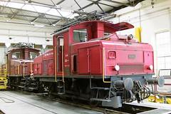 SBB 16346 (bobbyblack51) Tags: sbb class ee33 slm bbc c electric shunter 16346 erstfeld depot 1994