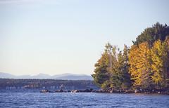 (amy20079) Tags: nikond5100 lake newengland maine autumn fall mountains trees